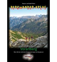 Wanderführer Bergwander-Atlas Vorarlberg Schall Verlag
