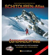 Skitourenführer Österreich Schitouren-Atlas Österreich West Schall Verlag