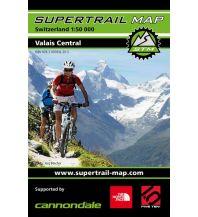 Radkarten Supertrail Map Valais Central outkomm gmbh