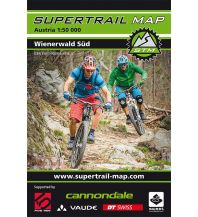 Radkarten Supertrail Map Wienerwald Süd 1:50.000 outkomm gmbh