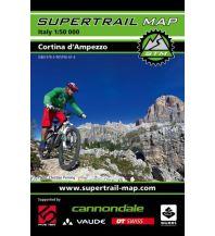 Radkarten Supertrail Map Cortina d'Ampezzo 1:50.000 outkomm gmbh