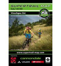 Radkarten Supertrail Map Vinschgau Ost 1:50.000 outkomm gmbh