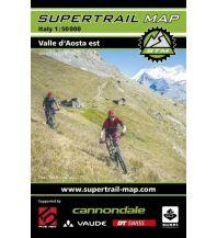 Radkarten Supertrail Map Valle Aosta Est outkomm gmbh