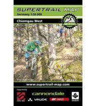 Mountainbike-Touren - Mountainbikekarten Supertrail Map Chiemgau West 1:50.000 outkomm gmbh