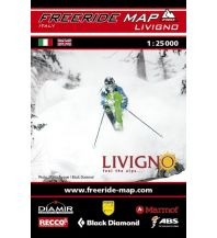 Skitourenkarten Freeride Map Livigno 1:25.000 outkomm gmbh