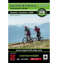Radkarten Supertrail Map Ascona / Locarno e Valli outkomm gmbh