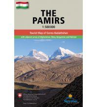 Straßenkarten The Pamirs /Pamir Gecko Maps
