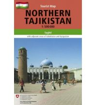 Straßenkarten Asien Northern Tajikistan Gecko Maps