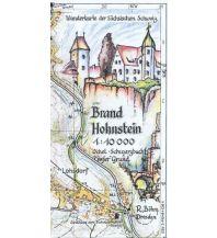Wanderkarten Böhm-Wanderkarte Deutschland Außeralpin - Brand, Hohnstein 1:10.000 Kartographischer Verlag Böhm