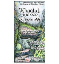 Wanderkarten Böhm-Wanderkarte Tschechien - Khaatal / Kyjovske udoli 1:10.000 Kartographischer Verlag Böhm