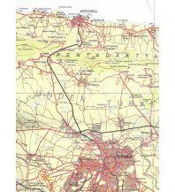 Wanderkarten Zypern Zypriotische topografische Karte 1, Zypern Nordwest 1:100.000 GeoCenter/ILH - Spezialkartenprogramm