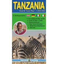 Straßenkarten Tanzania Harms IC