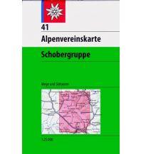 Skitourenkarten Alpenvereinskarte 41, Schobergruppe 1:25.000 Österreichischer Alpenverein