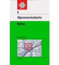 Wanderkarten Tirol Alpenvereinskarte 6, Rofan 1:25.000 Österreichischer Alpenverein