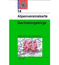 Skitourenkarten Alpenvereinskarte 14, Dachsteingebirge 1:25.000 Österreichischer Alpenverein