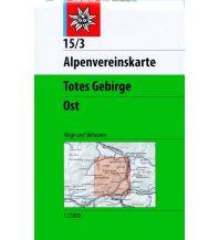 Skitourenkarten Alpenvereinskarte 15/3, Totes Gebirge - Ost 1:25.000 Österreichischer Alpenverein