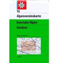 Skitourenkarten Alpenvereinskarte 16, Ennstaler Alpen, Gesäuse 1:25.000 Österreichischer Alpenverein