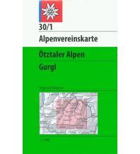 Skitourenkarten Alpenvereinskarte 30/1, Ötztaler Alpen - Gurgl 1:25.000 Österreichischer Alpenverein