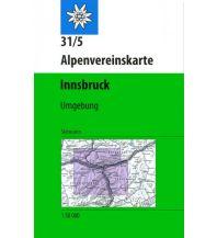 Skitourenkarten Alpenvereinskarte 31/5-Ski, Innsbruck und Umgebung 1:50.000 Österreichischer Alpenverein
