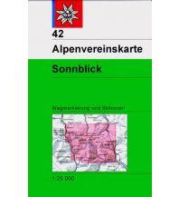 Skitourenkarten Alpenvereinskarte 42, Sonnblick 1:25.000 Österreichischer Alpenverein