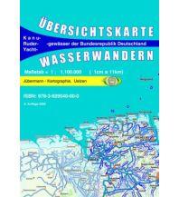 Kanusport Übersichtskarte Wasserwandern Jübermann