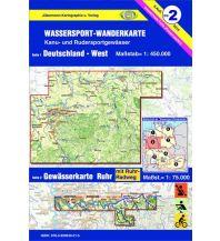 Kanusport Deutschland-West. Gewässerkarte Ruhr Jübermann