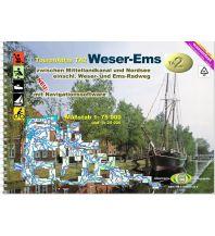 Kanusport TourenAtlas Wasserwandern / TA2 Weser-Ems 1:75.000 Jübermann