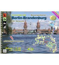 Kanusport Touren-Atlas TA5 Berlin-Brandenburg inkl. Spreewald 1:75.000 Jübermann