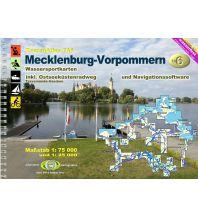 Revierführer Binnen TourenAtlas Wasserwandern / TA6 Mecklenburg-Vorpommern Jübermann