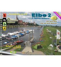 Kanusport Wasserwandern Touren-Atlas Nr. 8, Elbe 2 Jübermann