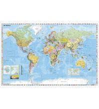 Weltkarte englisch Stiefel GmbH