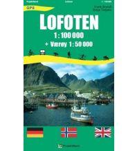Wanderkarten Skandinavien Lofoten 1:100.000 (+ Værøy 1:50.000) Mollenhauer & Treichel