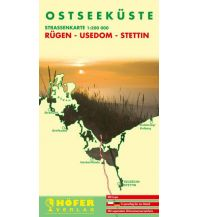 Straßenkarten Polen Höfer Straßenkarte DE 025, Ostseeküste 1:200.000 Höfer Verlag