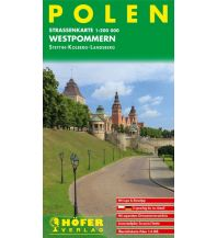Straßenkarten Polen Polen - PL 001 1:200.000 Höfer Verlag