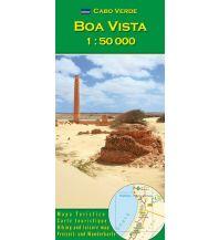 Wanderkarten Afrika AB Wanderkarte Kapverden - Boa Vista 1:50.000 AB Kartenverlag Attila Bertalan