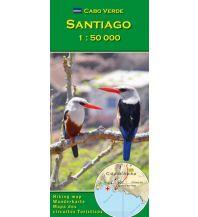 Wanderkarten Afrika Cabo Verde: Santiago 1:50.000 AB Kartenverlag Attila Bertalan