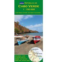 Straßenkarten Cabo Verde 1:150.000 AB Kartenverlag Attila Bertalan