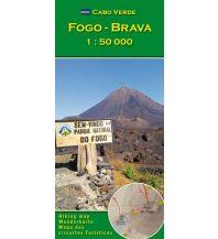 Wanderkarten Cabo Verde: Fogo, Brava 1 : 50000 AB Kartenverlag Attila Bertalan