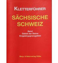 Sportkletterführer Deutschland Kletterführer Sächsische Schweiz - Gebiet der Steine Berg- & Naturverlag Rölke