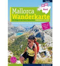 Wanderkarten Spanien Mallorca - Wanderkarte 1:35.000 (Kartenset mit Nord + Süd-Blatt) map.solutions GmbH