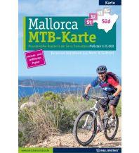 Radkarten Mountainbikekarte Mallorca (Kartenset mit Nord + Süd-Blatt) map.solutions GmbH