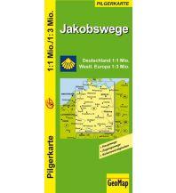 Wanderkarten Jakobswege Deutschland und westliches Europa GeoMap Medienagentur