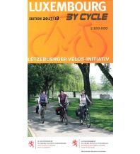 Radkarten Radkarte Luxembourg/Luxemburg by Cycle 1:100.000 Galli Josef