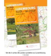 Radkarten Luxembourg by cycle 1:50.000 Galli Josef