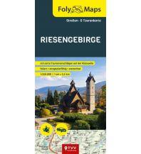 Motorradreisen FolyMaps Riesengebirge 1:250 000 Touristik-Verlag Vellmar