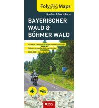 Motorradreisen FolyMaps Böhmerwald / Bayerischer Wald 1:250 000 Touristik-Verlag Vellmar