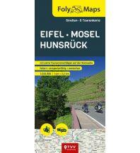 Motorradreisen FolyMaps Eifel Mosel Hunsrück 1:250 000 Touristik-Verlag Vellmar