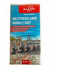 Motorradreisen Motorradkarten Set Deutschland Nord-Ost Touristik-Verlag Vellmar