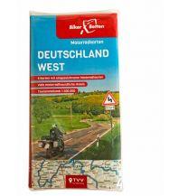 Motorradreisen Motorradkarten Set Deutschland West Touristik-Verlag Vellmar