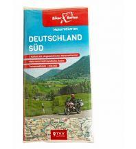 Motorradreisen Motorradkarten Set Deutschland Süd Touristik-Verlag Vellmar